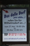 Ortsschild Dolles Dorf